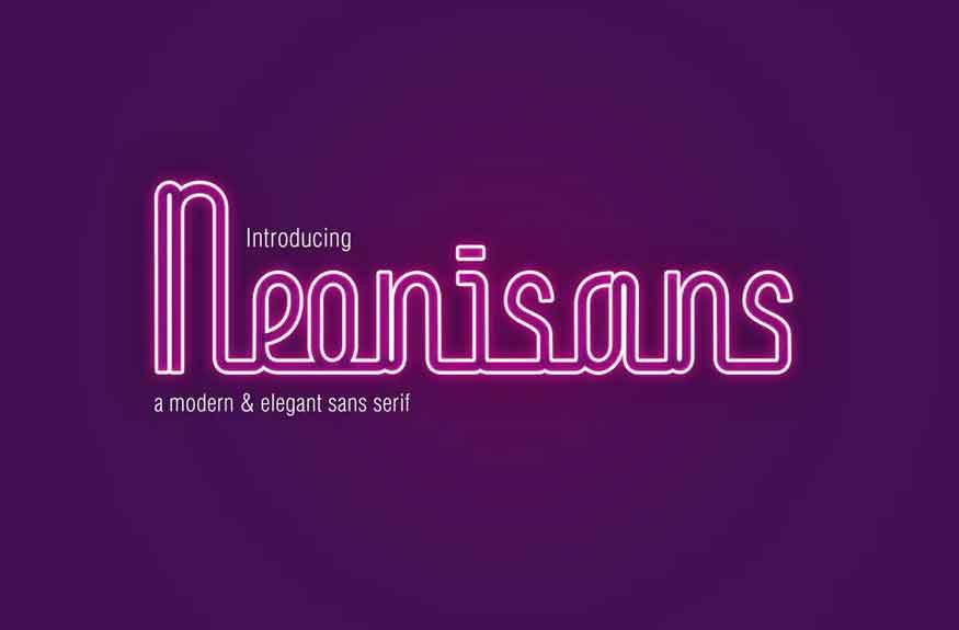 Neonisans Font