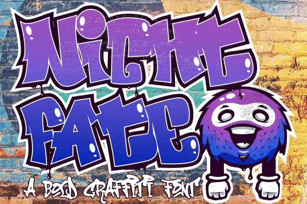 Nightfate Font
