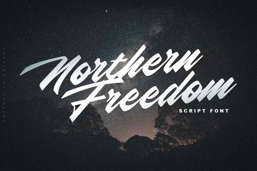 Norhern Freedom Font