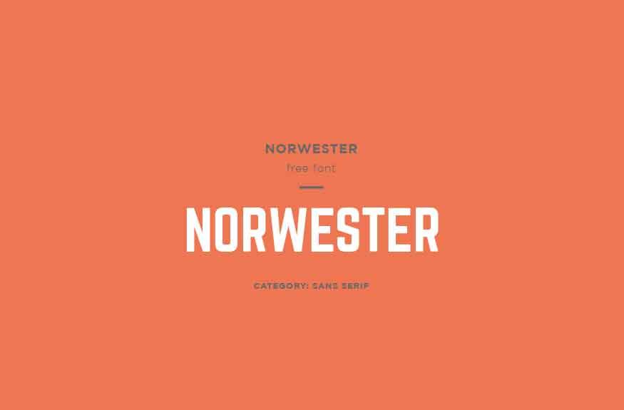 Norwester Font