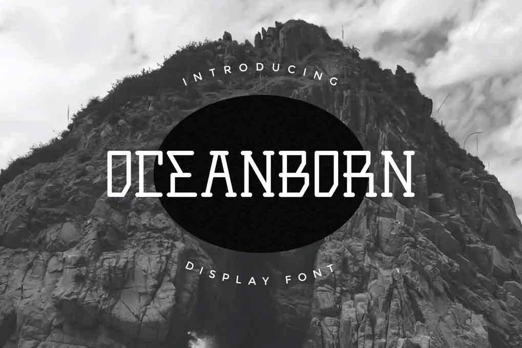 Oceanborn Font