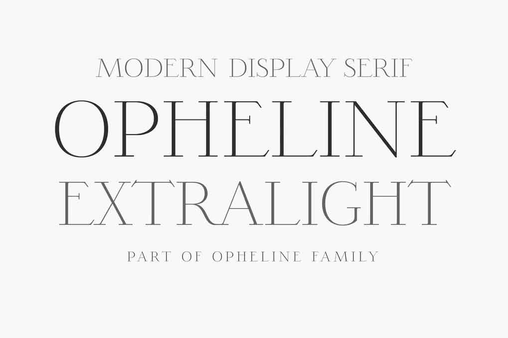 Opheline Font
