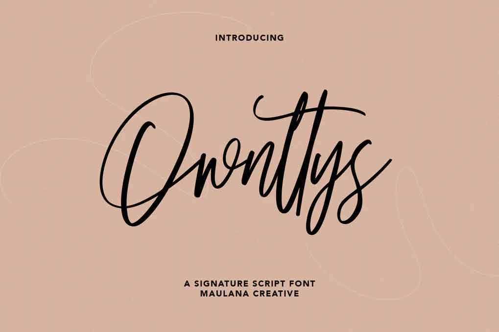 Ownttys Font