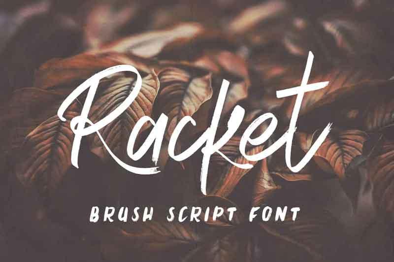 Racket Font
