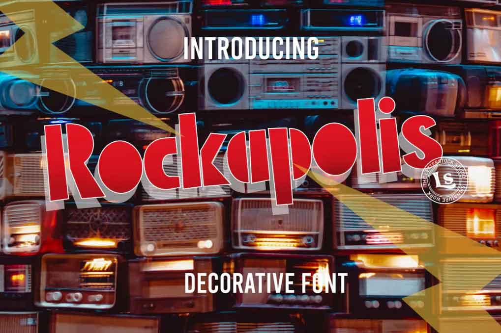 Rockapolis Font