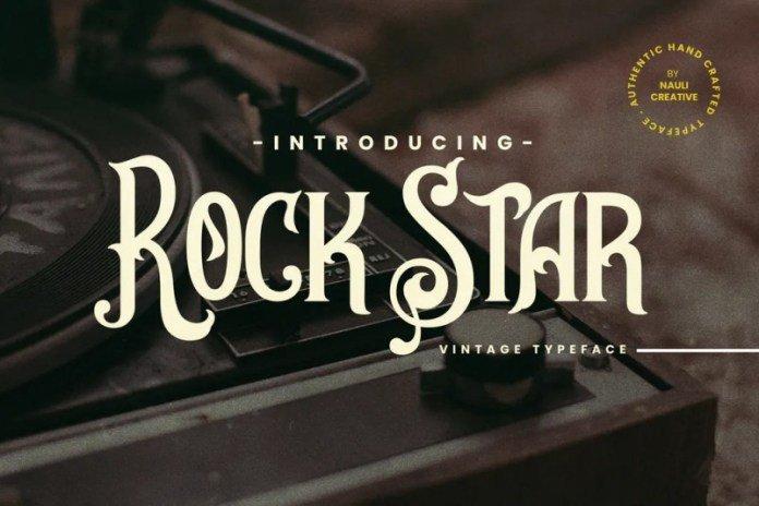 Rockstar Font
