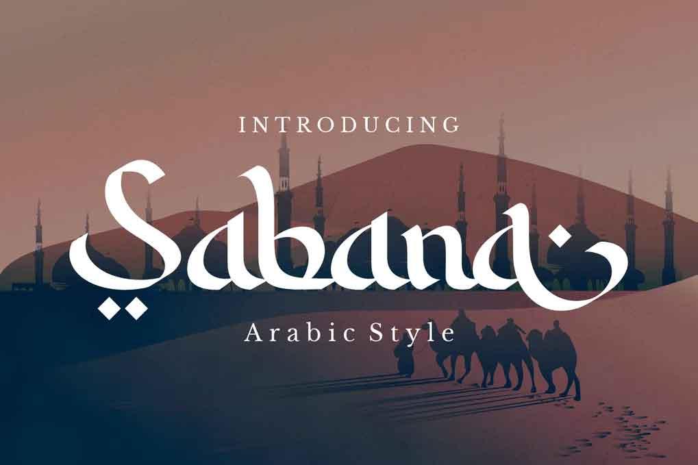 Sabana Arabic Font