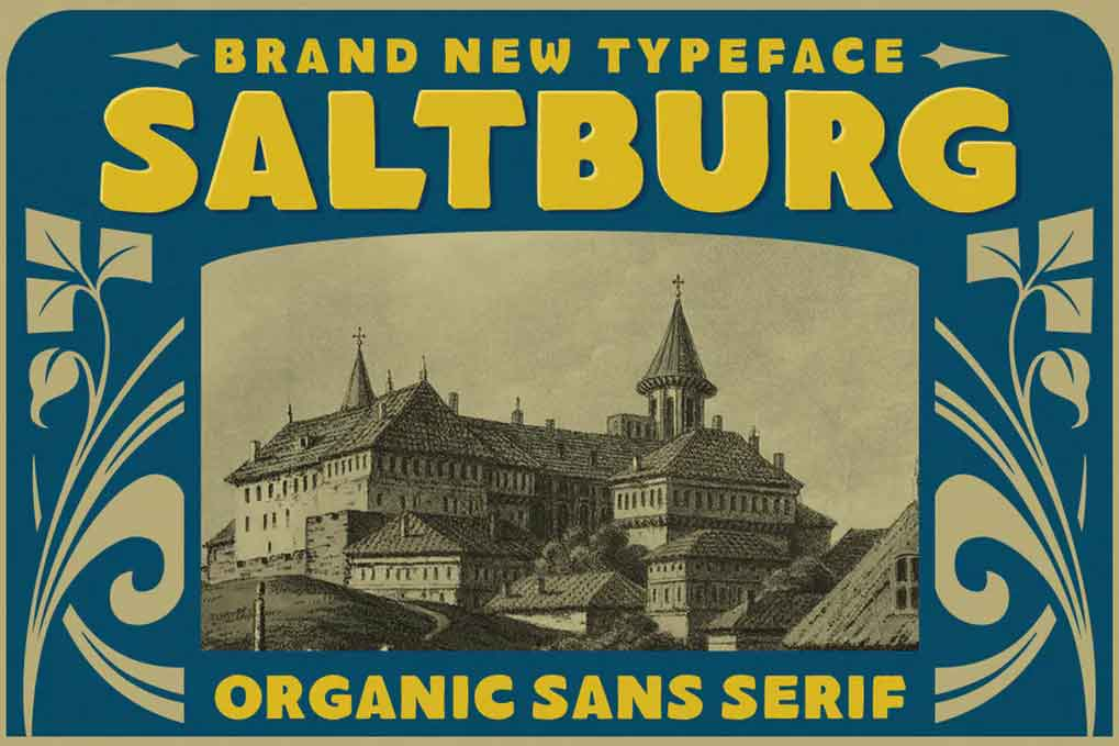 Saltburg Font