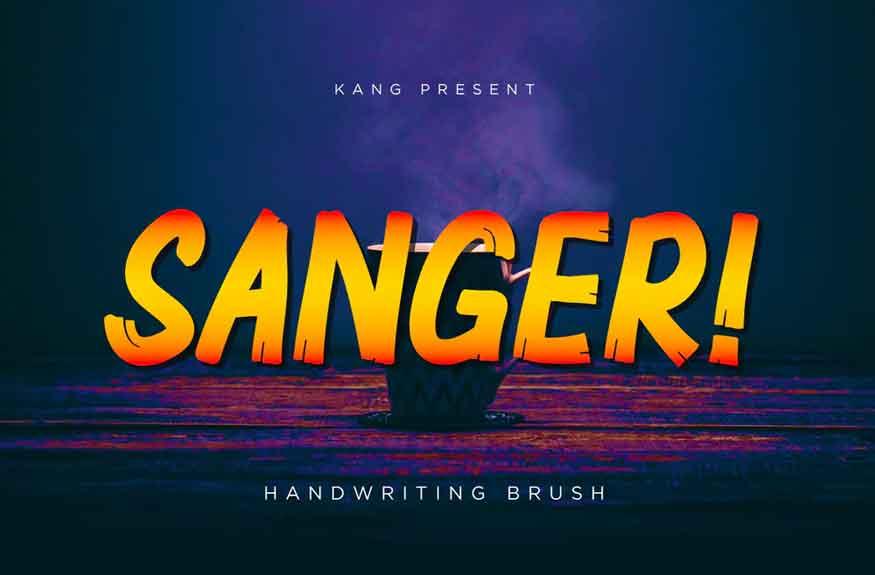Sanger Font
