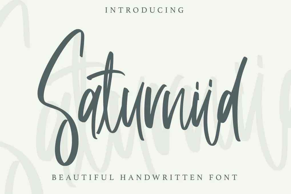 Saturniid Font