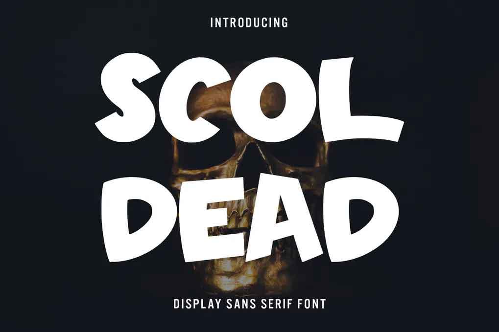 Scoldead Font