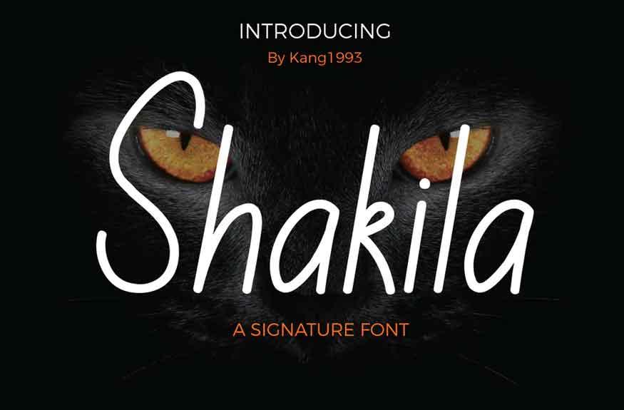 Shakila Font