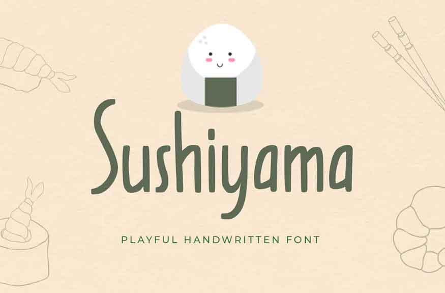 Shusiyama Font
