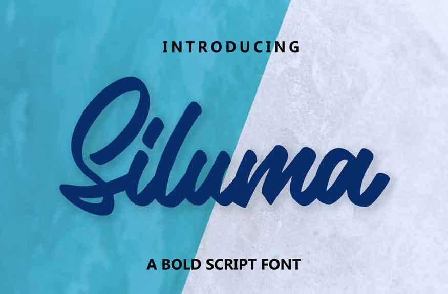 Siluma Font