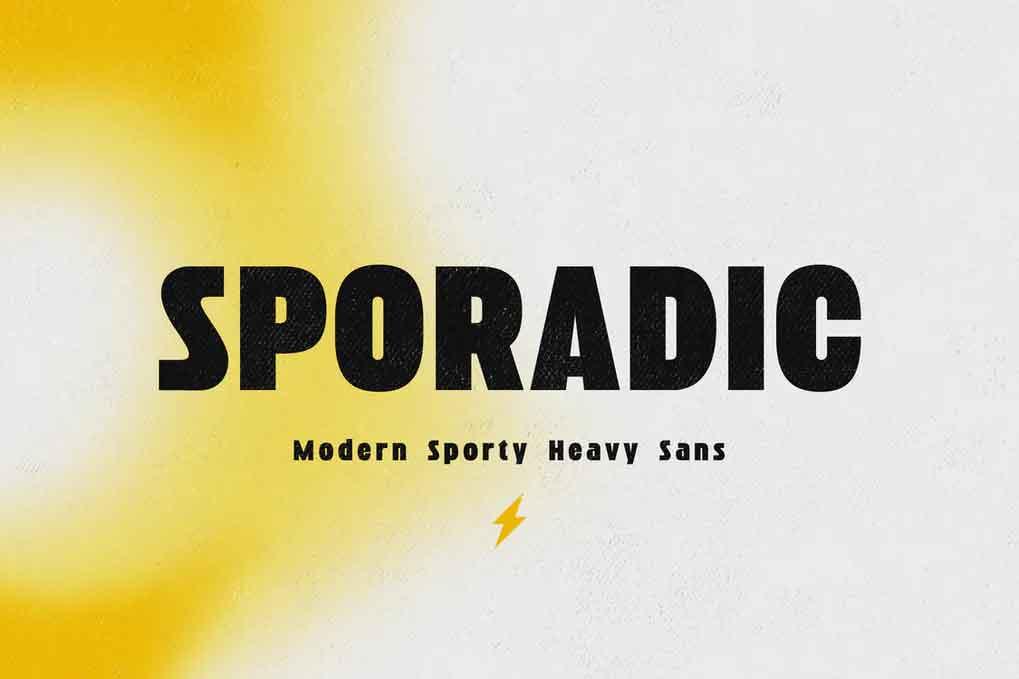 Sporadic Font