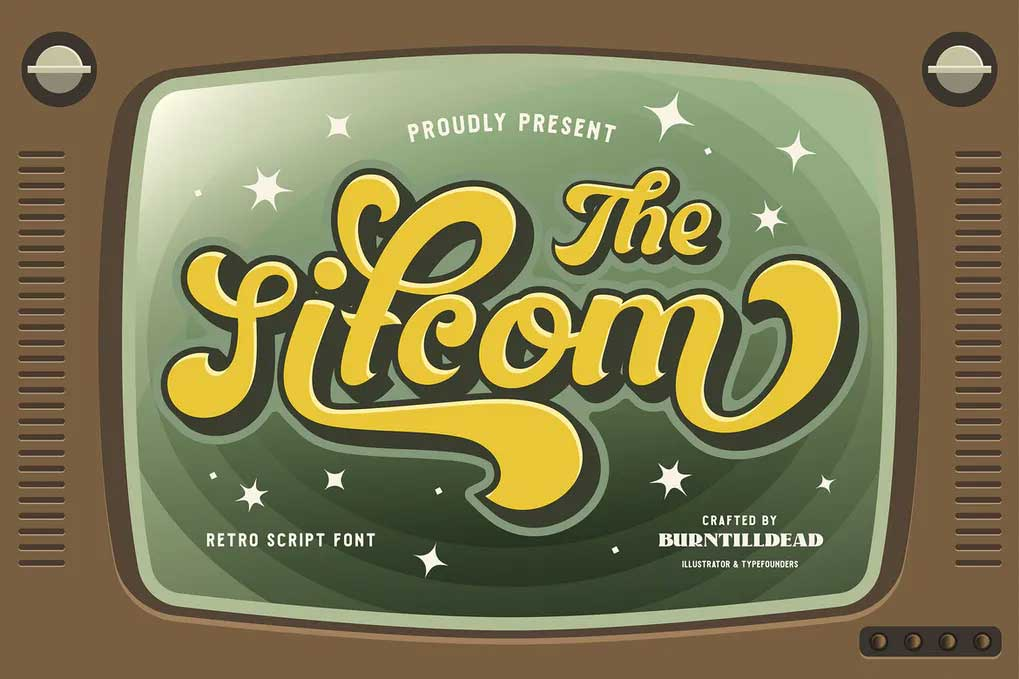 The Sitcom Font