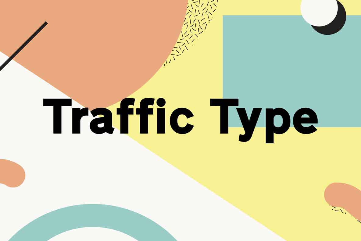 Traffic Type Font Family