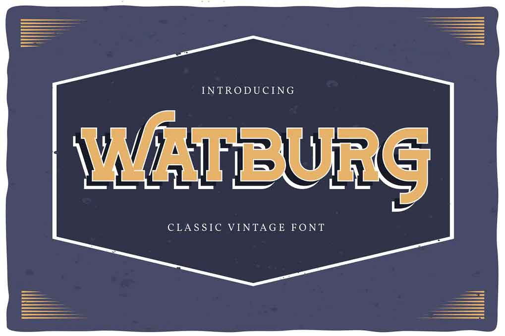 Watburg Font
