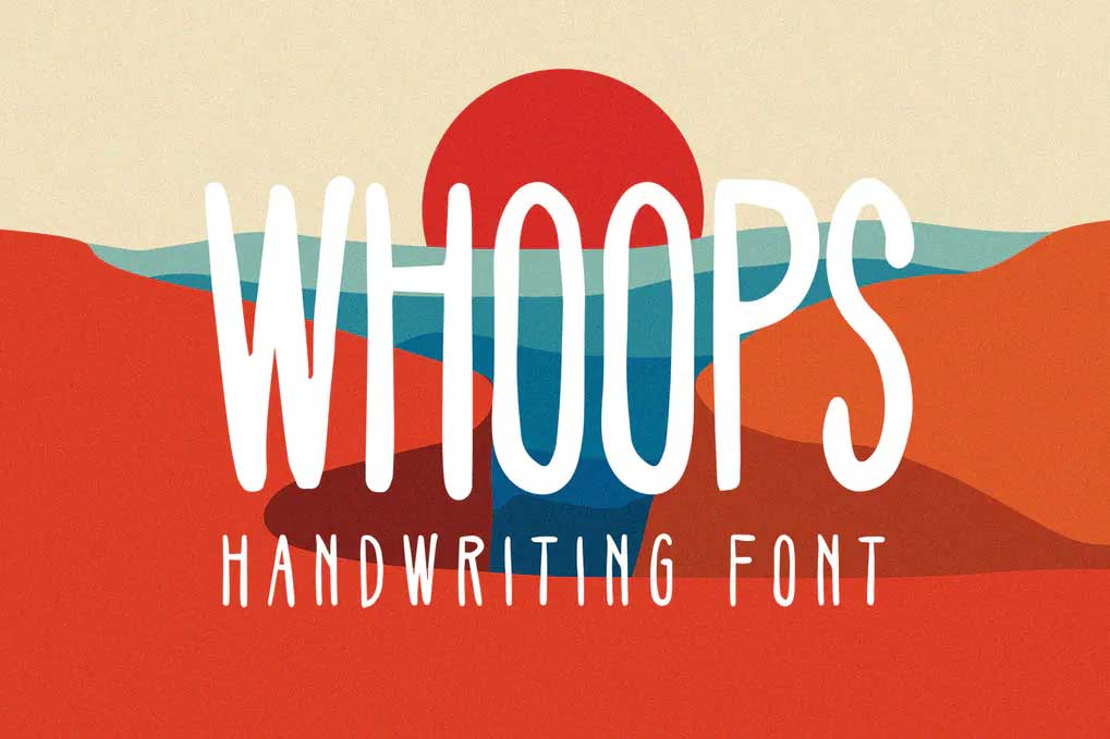 Whoops Font
