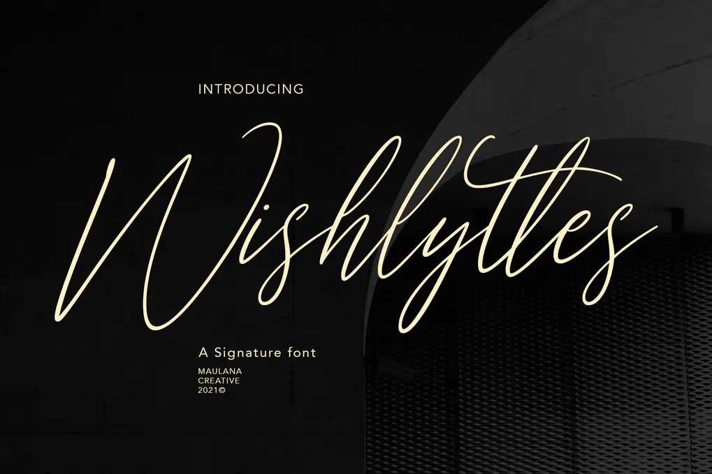 Wishlyttes Font