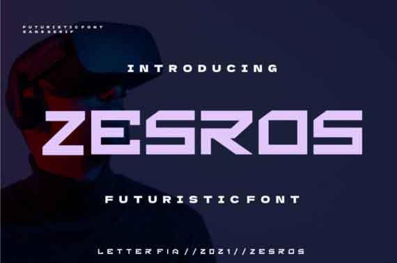 Zesros Font