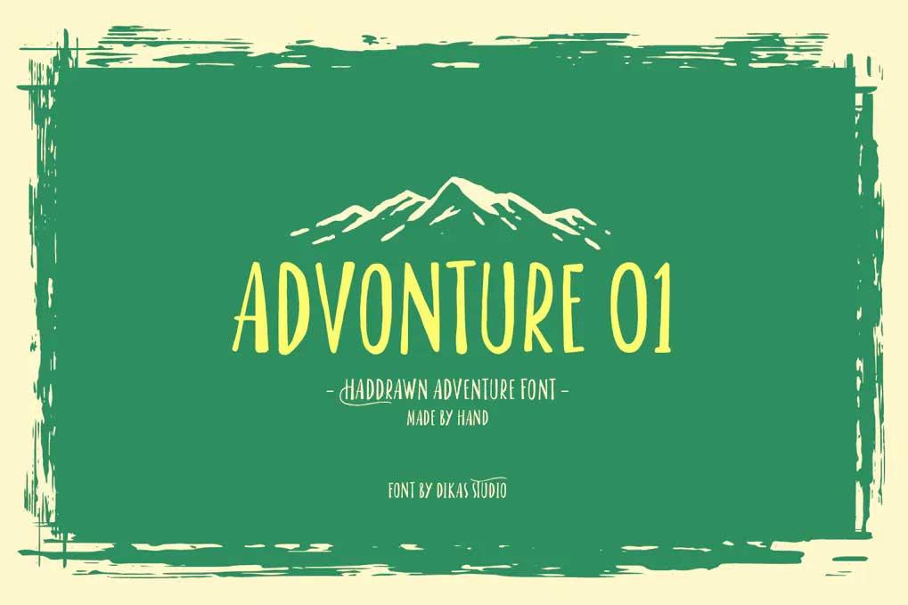 Advonture 01 Font