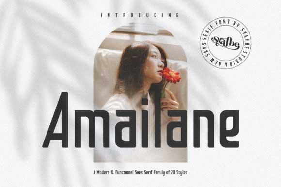 Amailane Font