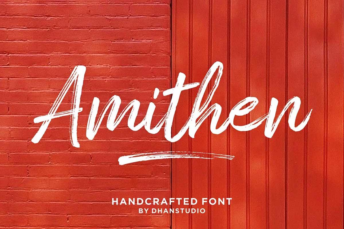 Amithen Font