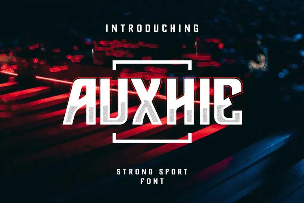 Auxhie Font
