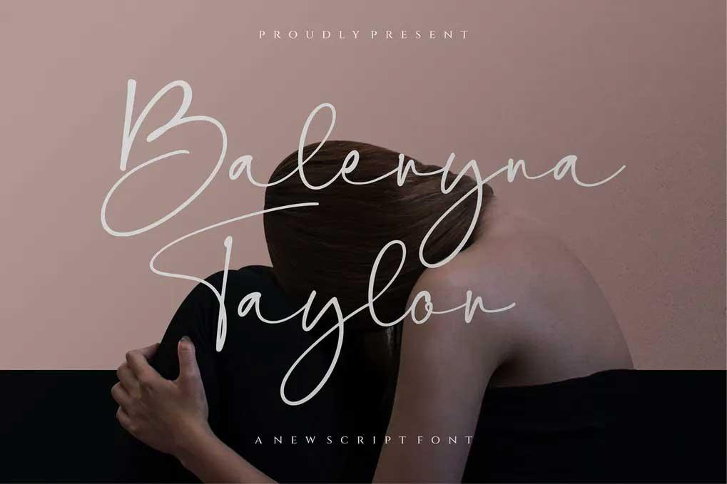 Baleryna Taylor Font