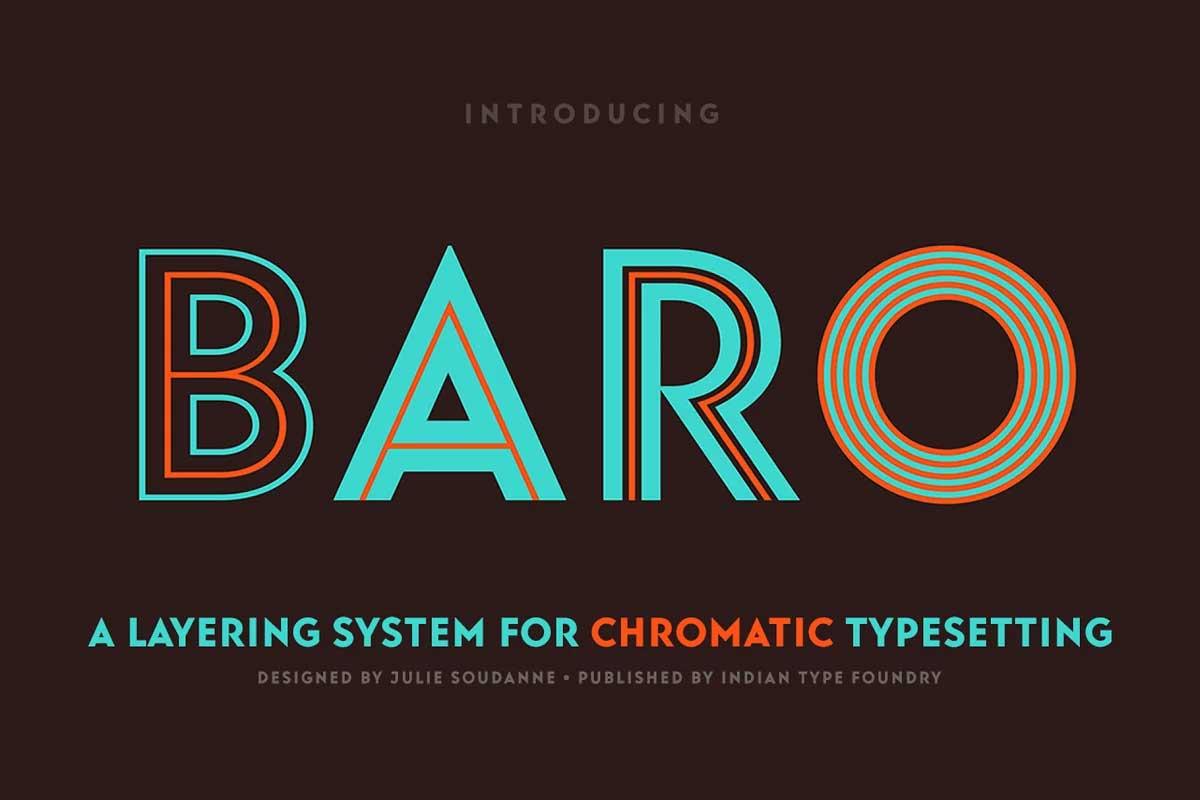 Baro Font