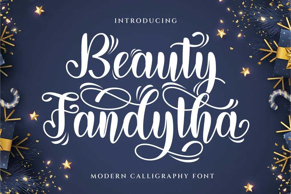 Beauty Fandhita Font