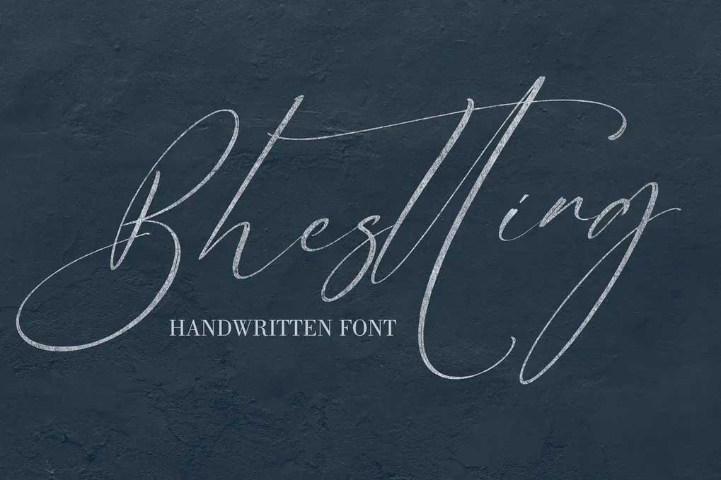 Bhesting Font