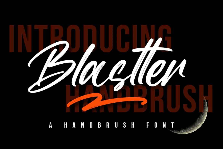 Blastter Font
