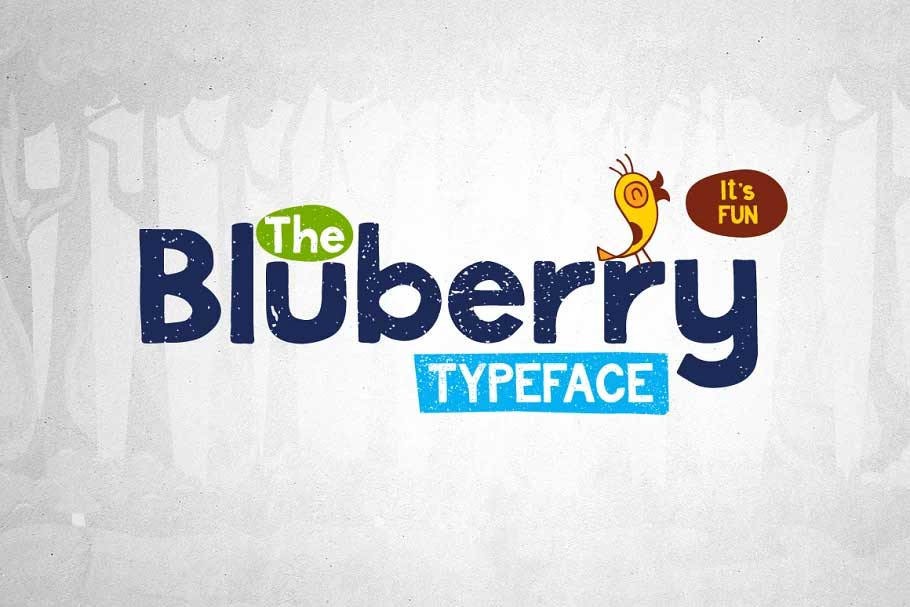 Bluberry Font