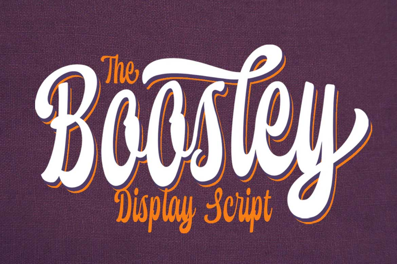 Boosley Font