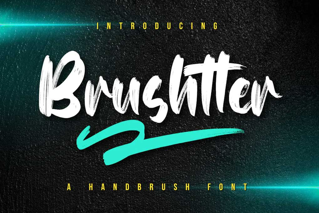 Brushtter Font