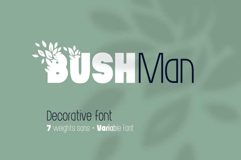 Bushman Font