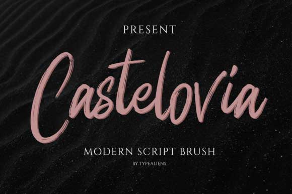 Castelovia Font