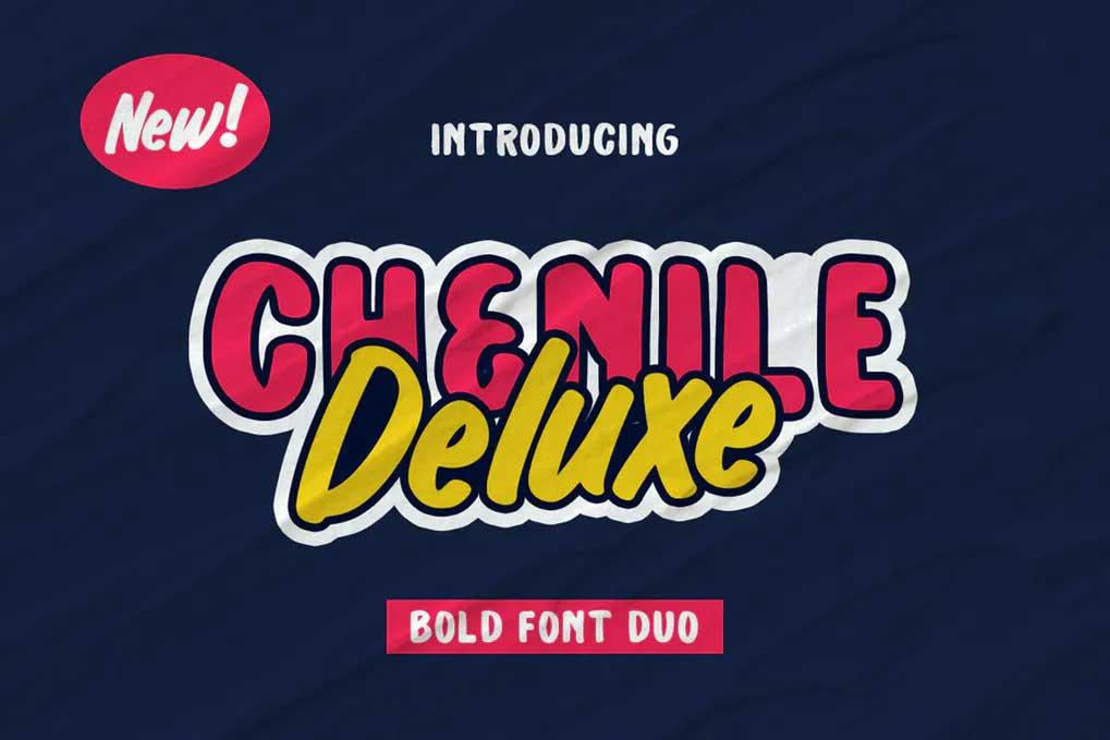Chenile Deluxe Font