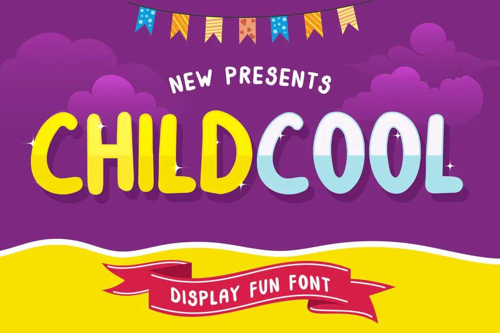 ChildCool Font