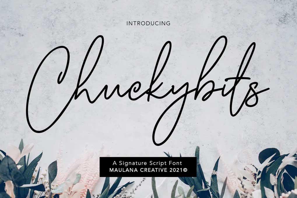 Chuckybits Font
