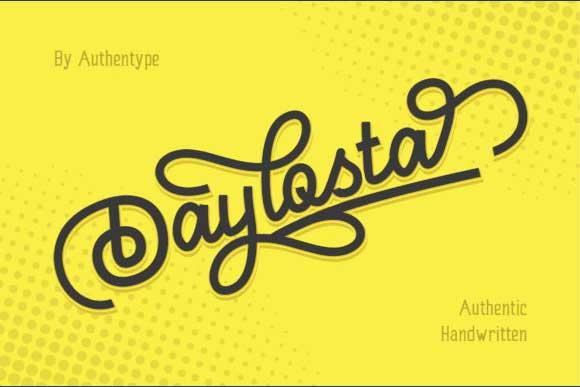 Daylosta Font