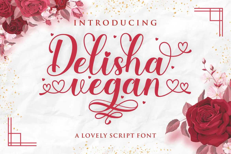 Delisha Vegan Font