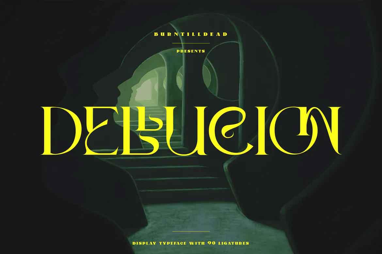 Dellucion Font