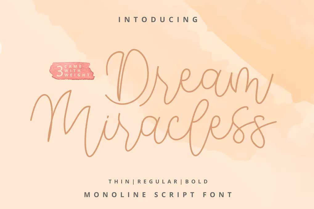 Dream Miracless Font