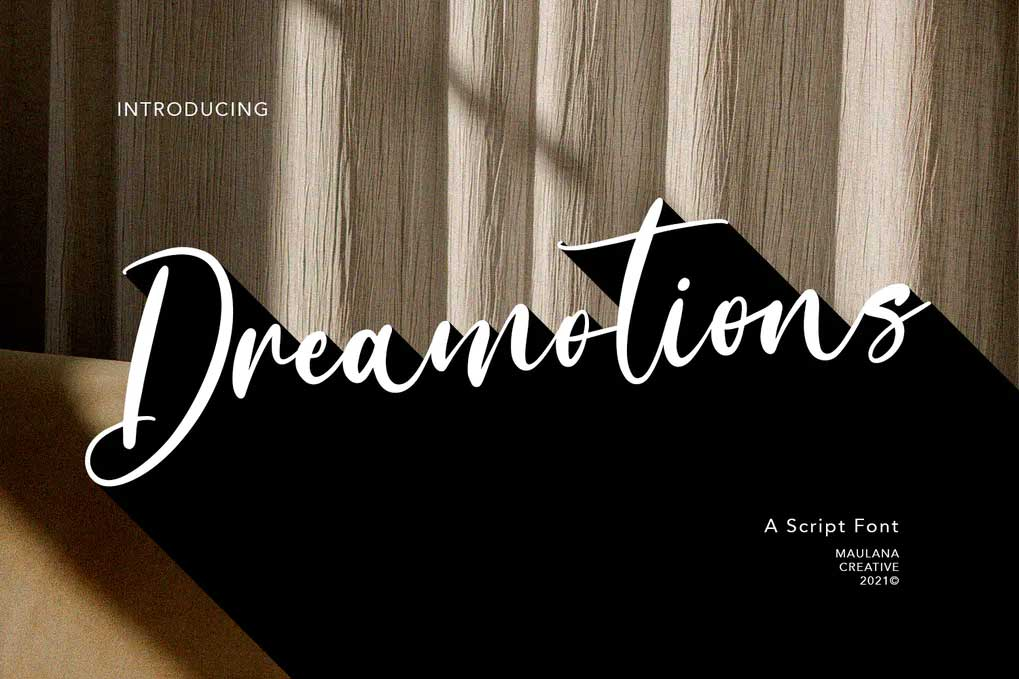 Dreamotions Font