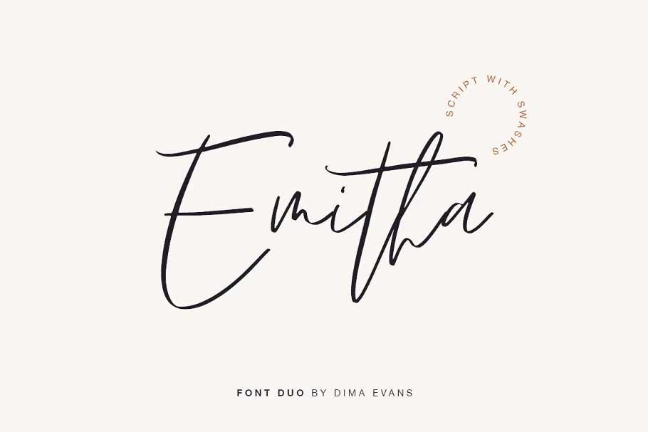 Emitha Font