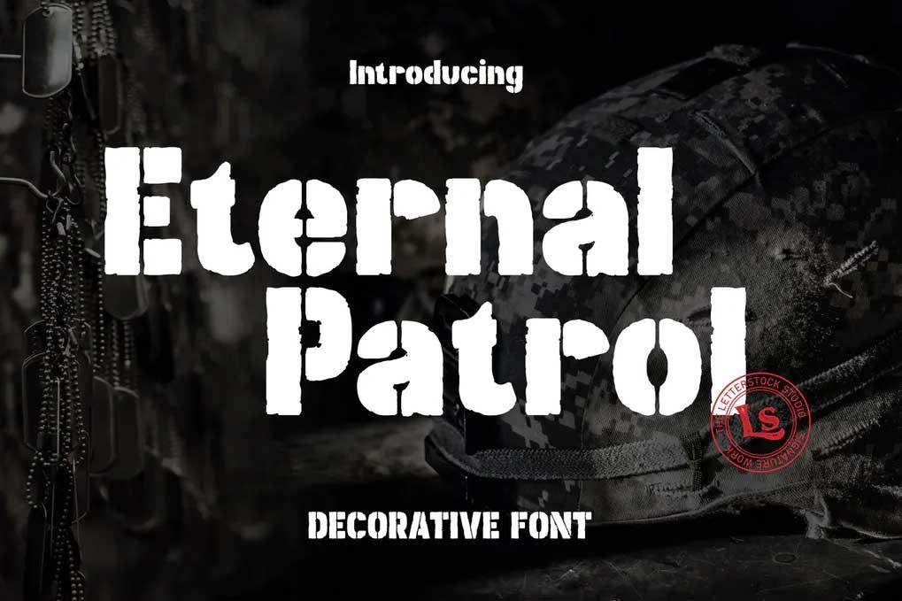 Eternal Patrol Font