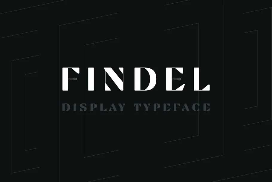 Findel Font